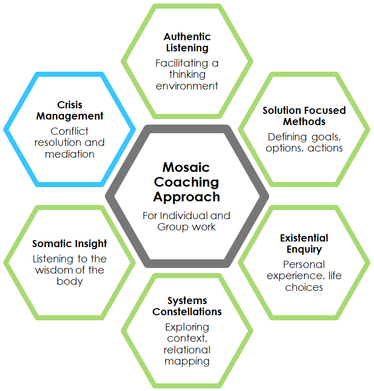 Mosaic Coaching Approach for individual and group work